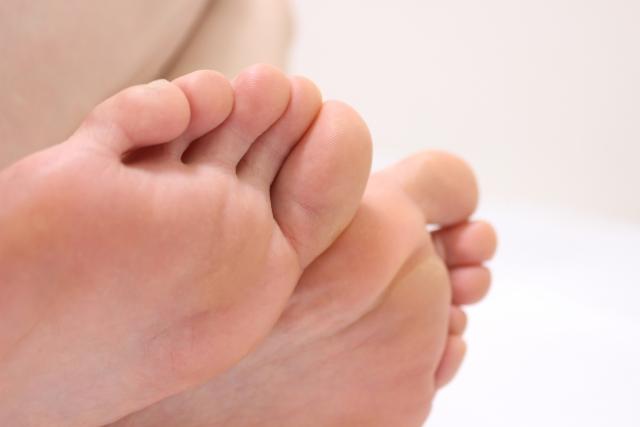 足指のサイン